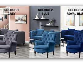 Nro 89 kilpailuun Change yellow chair to Blue, Royal Blue and Grey käyttäjältä irfananis07