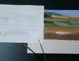 #73 untuk I need an artist to paint a landscape and city oleh meshofreelancer