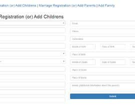 ScriptsnDesigns tarafından Create data input form for family tree için no 16