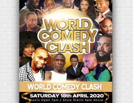#17 for A5 Flyer Front - World Comedy Clash af masumbinsharif
