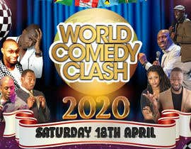 #16 for A5 Flyer Front - World Comedy Clash af okisaGraphics