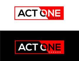 Nro 1374 kilpailuun ACT One Canada Logo käyttäjältä anupghos