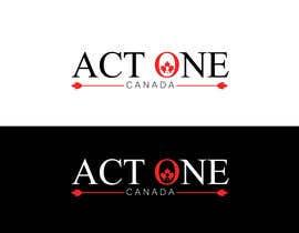 Nro 1308 kilpailuun ACT One Canada Logo käyttäjältä Sanatabasuum