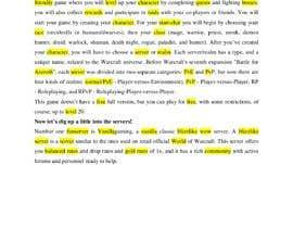 #9 untuk Write a 1000 word game related article oleh Luglia