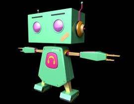 #94 for 3D Robot Design / Logo af mennson