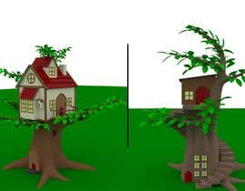 #36 untuk 3D Cartoon Stylized Suburbs / Forest Environment - High/Medium Resolution oleh Diedalus