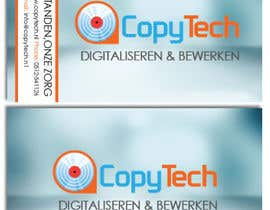 #46 cho Business Card Design for Copytech.nl bởi sjenkinsjr