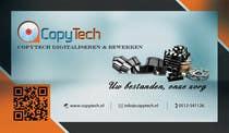 Graphic Design Konkurrenceindlæg #17 for Business Card Design for Copytech.nl