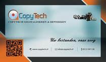 Graphic Design Konkurrenceindlæg #18 for Business Card Design for Copytech.nl