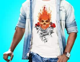 Nro 133 kilpailuun T-Shirt Design - Illustrate an evil skull (UP-004) käyttäjältä SNSsumon