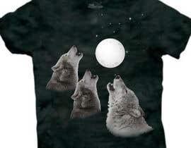 #23 for Create Three Wolves Design for Planters af MuhammdUsman