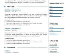 #24 for Update my CV by rafsanAbir