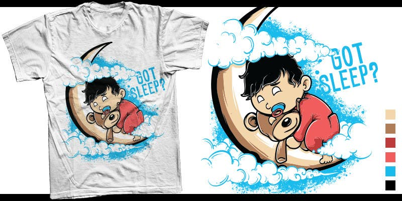 Proposition n°                                        11                                      du concours                                         T-shirt Design for Tired Teddies Guerrilla Marketing Campaign