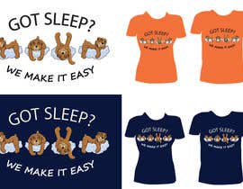 #97 untuk T-shirt Design for Tired Teddies Guerrilla Marketing Campaign oleh Ekaterina5