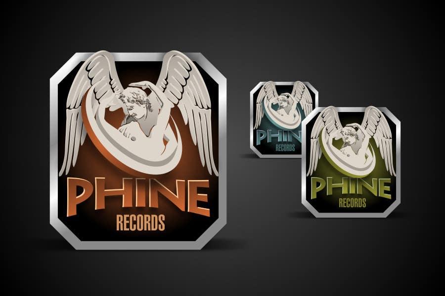 Penyertaan Peraduan #                                        49                                      untuk                                         Logo Design for Phine Records
