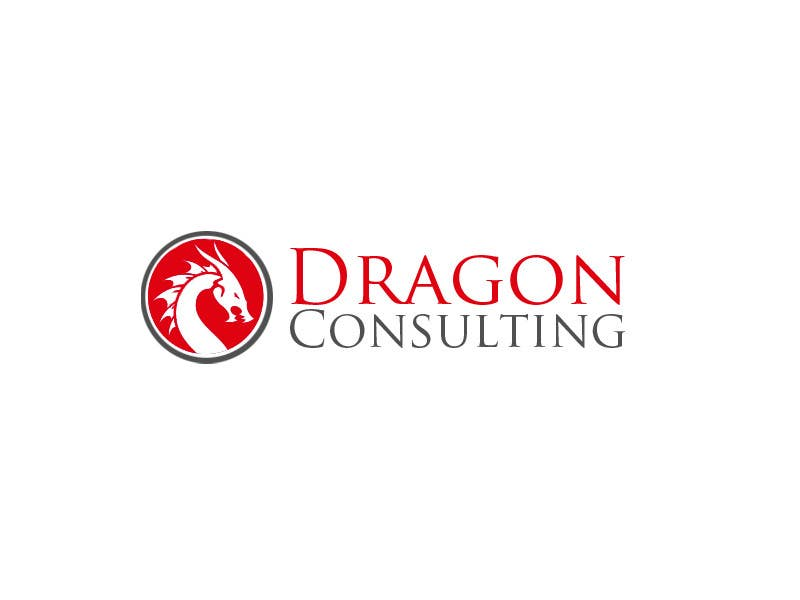 Kilpailutyö #                                        141                                      kilpailussa                                         Logo Design for Dragon Consulting