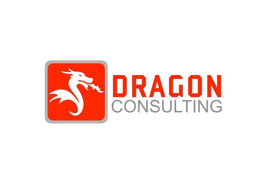 Kilpailutyö #                                        166                                      kilpailussa                                         Logo Design for Dragon Consulting