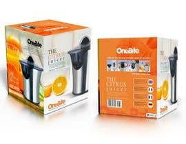 #24 cho Create Minimalistic Print and Packaging Designs for a Citrus Juicer bởi spartan7750