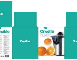 #18 cho Create Minimalistic Print and Packaging Designs for a Citrus Juicer bởi MarinaMarkizova