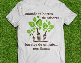 #25 cho Diseñar una camiseta for organic food bởi memphiscube