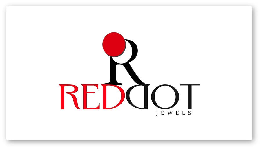 Inscrição nº                                         38                                      do Concurso para                                         Logo Design for Red-Dot Jewels