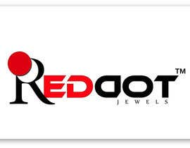 #90 para Logo Design for Red-Dot Jewels por rukminikotamraju