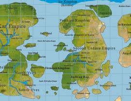 #9 for Map Illustration by devjoyti