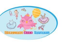 #8 para Criar Logotipo para Loja de Moda Infantil por rehamsayedmostaf