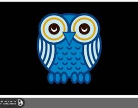 #67 for T-shirt Owl Design for Geek/Gamer Shop by Dewieq