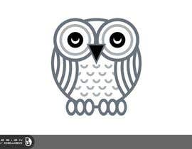 #68 untuk T-shirt Owl Design for Geek/Gamer Shop oleh Dewieq