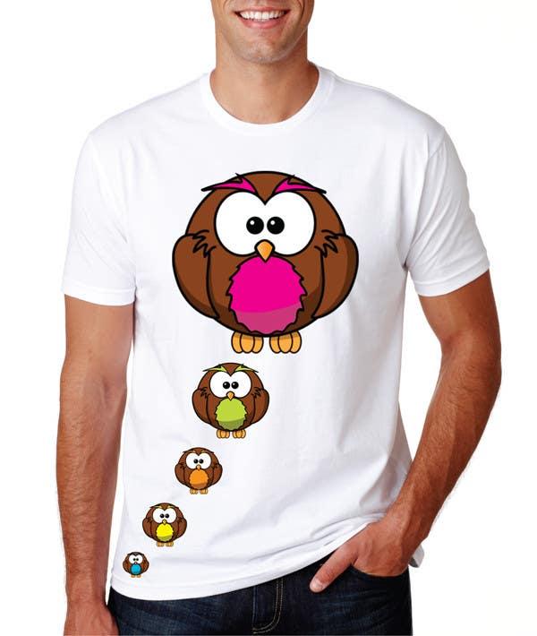Bài tham dự cuộc thi #99 cho T-shirt Owl Design for Geek/Gamer Shop