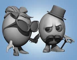 #30 cho Cute Funny Easter eggs bởi dichyangel