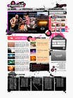 Graphic Design Natečajni vnos #11 za Website Design for eFestivals