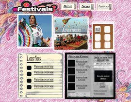 #10 for Website Design for eFestivals af wingedove