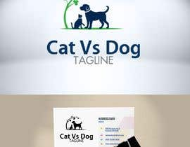#12 untuk Cat Vs. Dog logo illustration oleh Zattoat