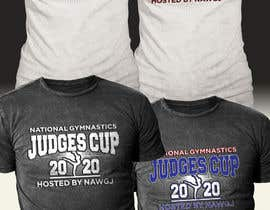 #145 for gymnastics event shirt design by hasembd