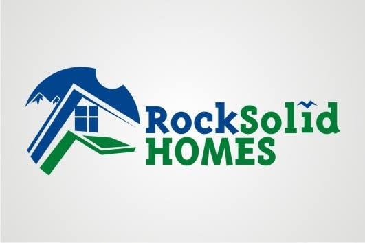Entri Kontes #4 untukLogo Design for Rock Solid Homes