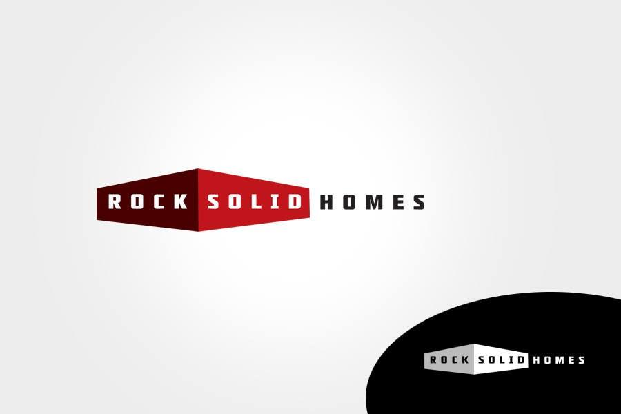 Bài tham dự cuộc thi #                                        274                                      cho                                         Logo Design for Rock Solid Homes