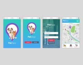#12 for Design Login (home) app screen and theme for a Phone app af dsquarestudio