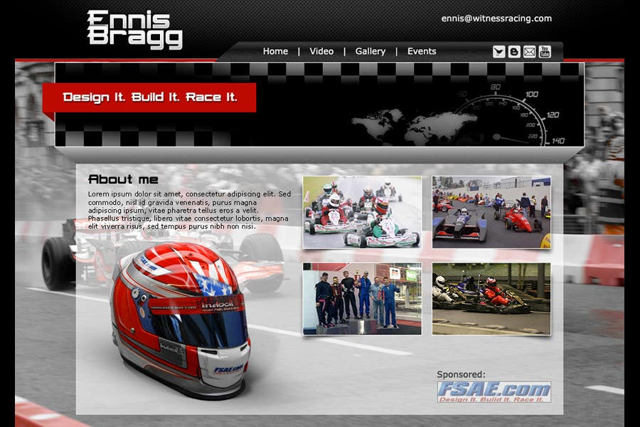 Proposition n°                                        1                                      du concours                                         Graphic Design for ennisbragg.com