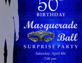 13 For 50th Birthday Masquerade Ball Invitation Male By Cin17