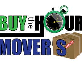 #82 para Logo Design for BUY the Hour Movers por tedatkinson123
