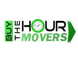 #43 para Logo Design for BUY the Hour Movers por plesua