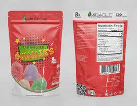 #10 cho Create A Product Packaging For A Gummy Product bởi javido7