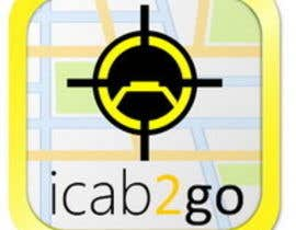 nº 18 pour Icon or Button Design for icab2go par Stevieyuki