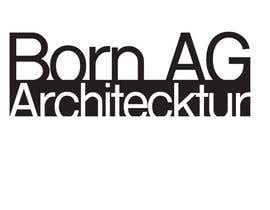 #356 cho design logo for architectural firm (BORN AG) bởi lisaannejones