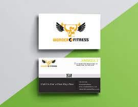 #742 untuk Design business card for a gym oleh humayun7066