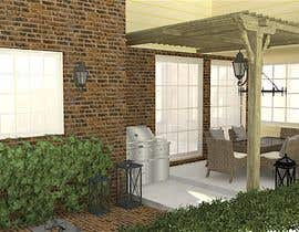 nº 28 pour Redesign Outdoor Kitchen- Extend Covered Patio-Landscape Redesign. par Kinterior