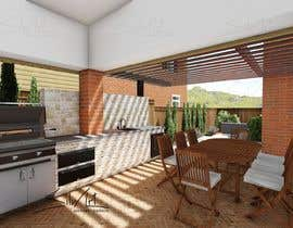 nº 15 pour Redesign Outdoor Kitchen- Extend Covered Patio-Landscape Redesign. par EstebanGreen