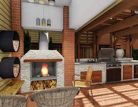 nº 42 pour Redesign Outdoor Kitchen- Extend Covered Patio-Landscape Redesign. par EstebanGreen